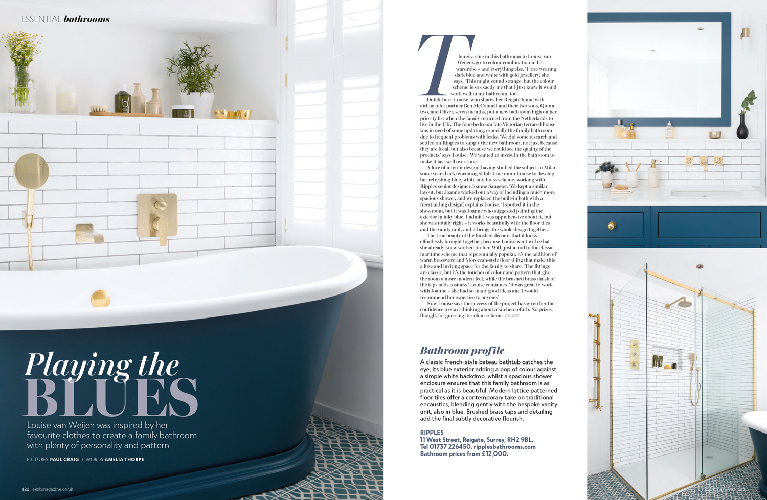 Essential Kitchen Bathroom Bedroom Magazine July 2018 | Paul Craig Interior Photographer