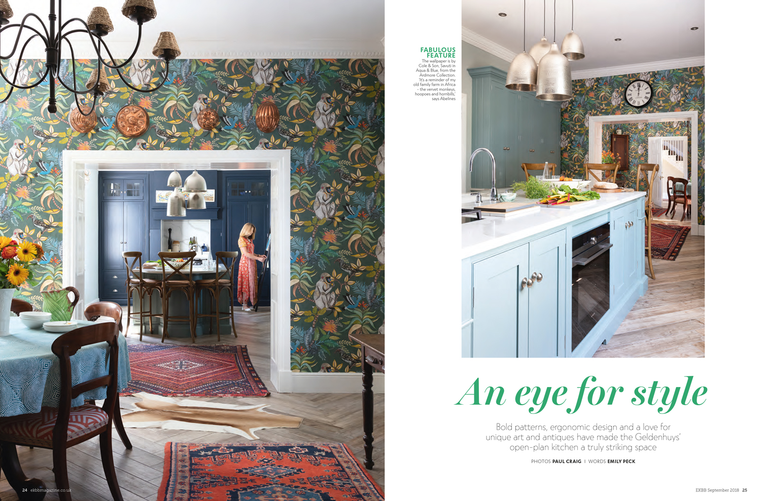 Essential Kitchen Bathroom Bedroom Magazine September 2018 | Paul Craig Interior Photographer