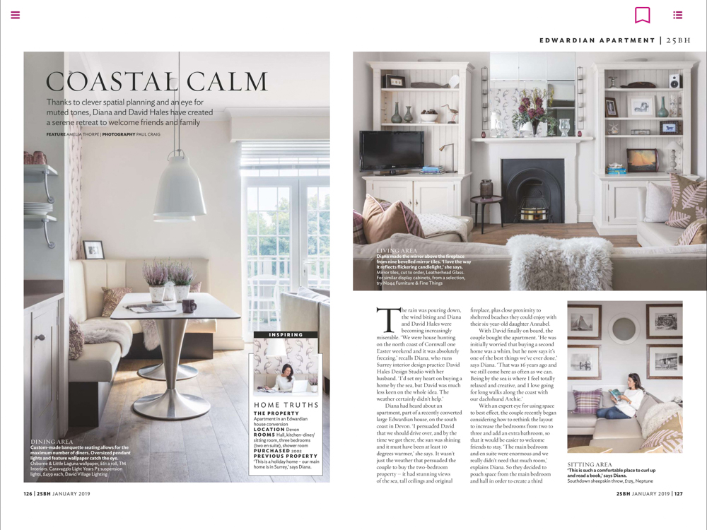 25 Beautiful Homes Magazine January 19 | Paul Craig Interior Photographer