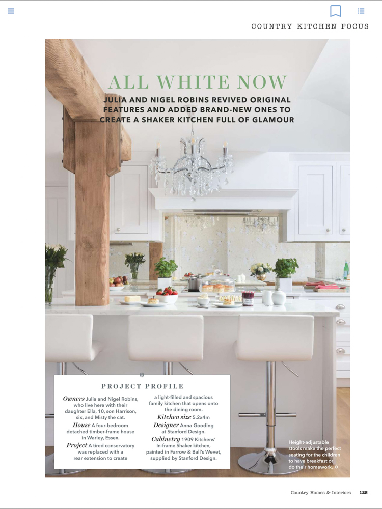 Country Homes & Interiors Magazine August 18 | Paul Craig Interior Photographer