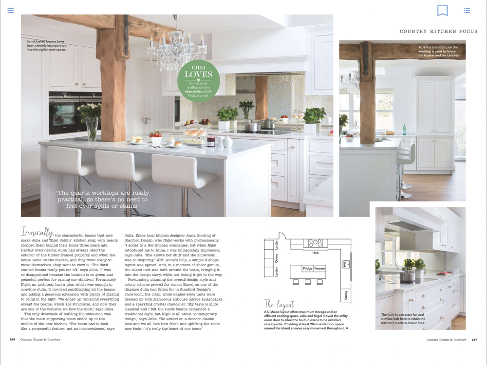 Country Homes & Interiors Magazine August 2018 | Paul Craig Interior Photographer