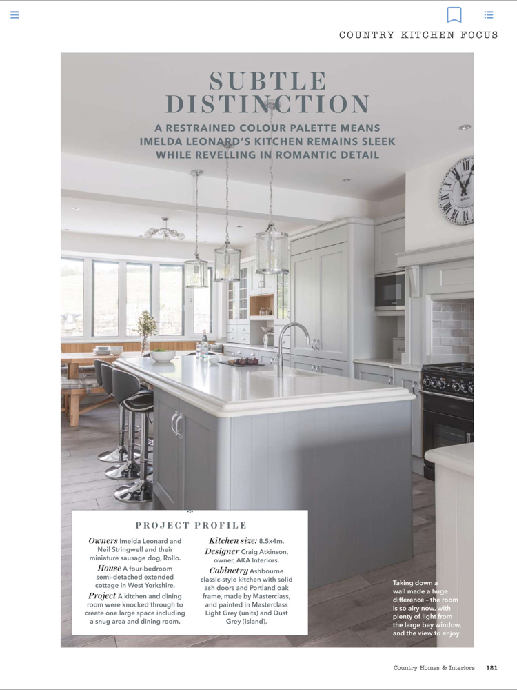 Country Homes & Interiors Magazine Jan 2019 | Paul Craig Interior Photographer