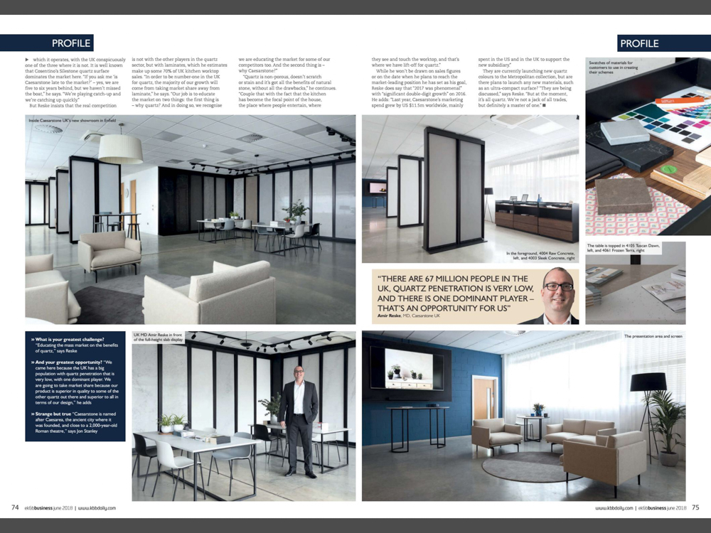 Essential Kitchen & Bathroom Business Magazine June 2018 | Paul Craig Interior Photographer