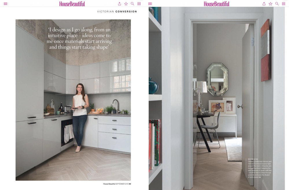 House Beautiful Magazine Sept 2018 | Paul Craig Interior Photographer