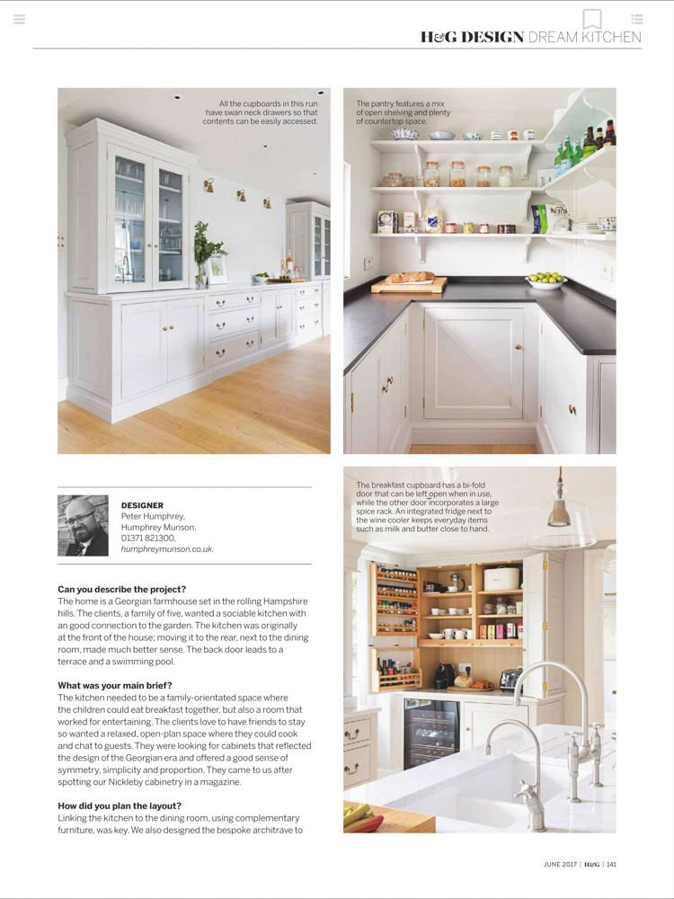 Homes & Gardens Magazine June 2017 | Paul Craig Interior Photographer