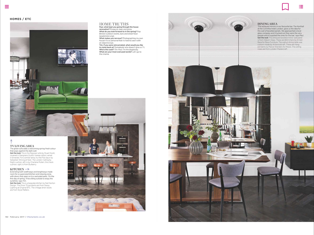 Living Etc Magazine Feb 2017 | Paul Craig Interior Photographer