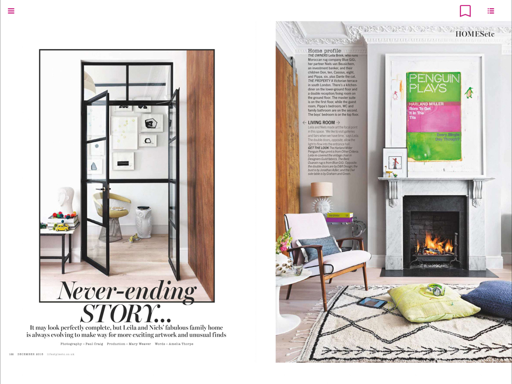Living Etc Magazine Dec 2016 | Paul Craig Interior Photographer