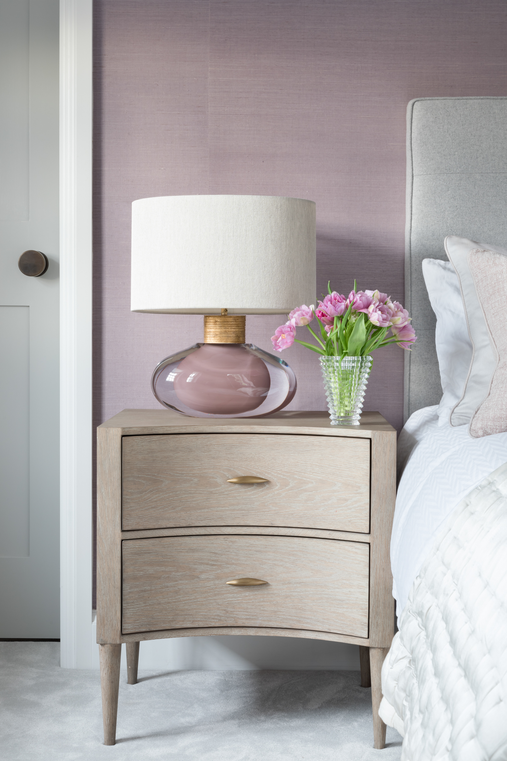 Paul Craig, Interior Photographer, Residential Photography, London, Bedroom, Bed and Side table