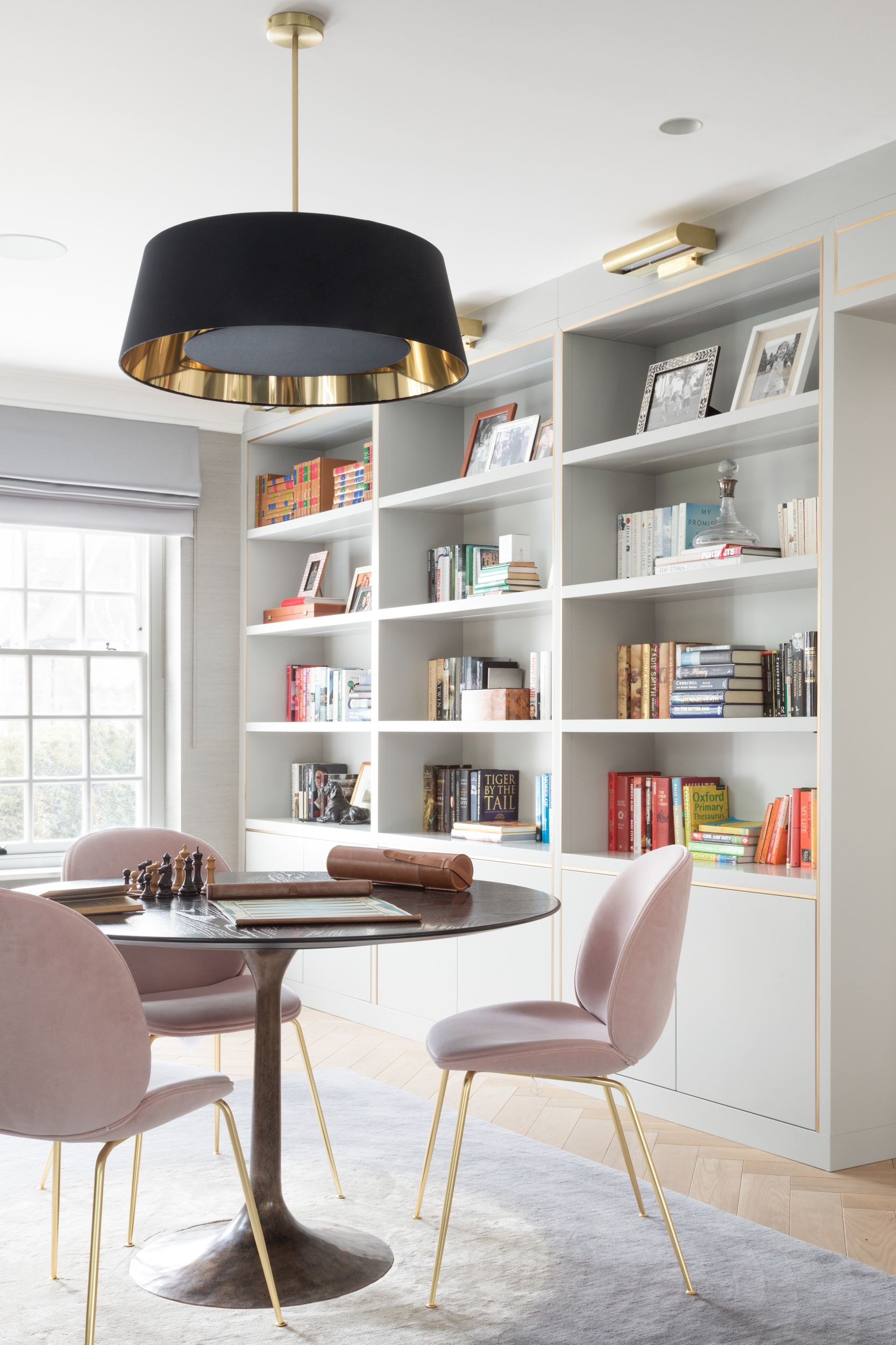 Paul Craig, Interior Photographer, Residential Photography, London, Living Room, Library