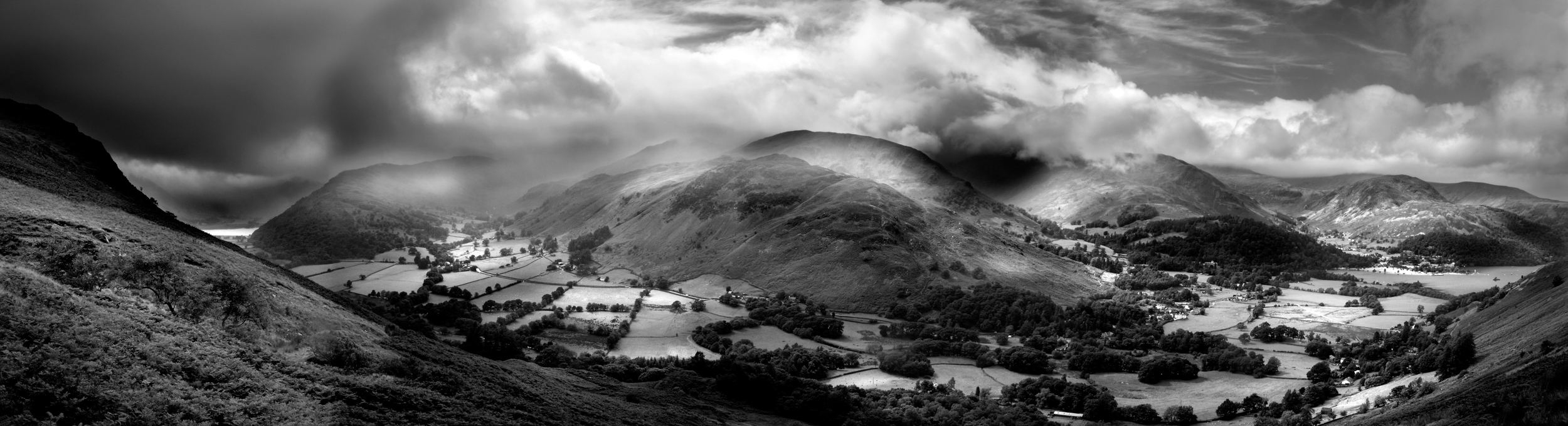 Paul Craig Interior Photographer Personal Work Lake District panorama