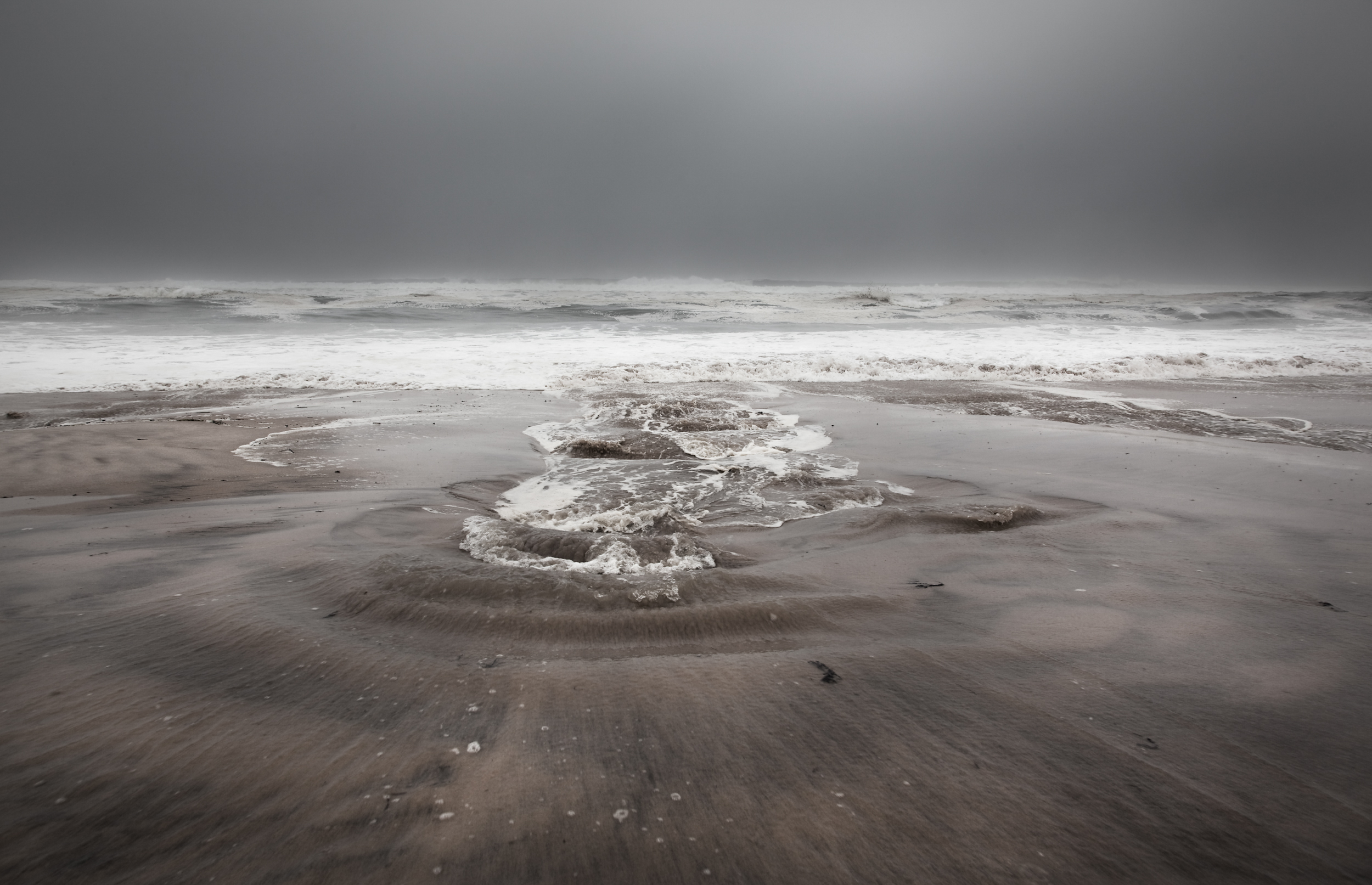 Paul Craig Interior Photographer Personal Work USA Beach in Hamptons In storm