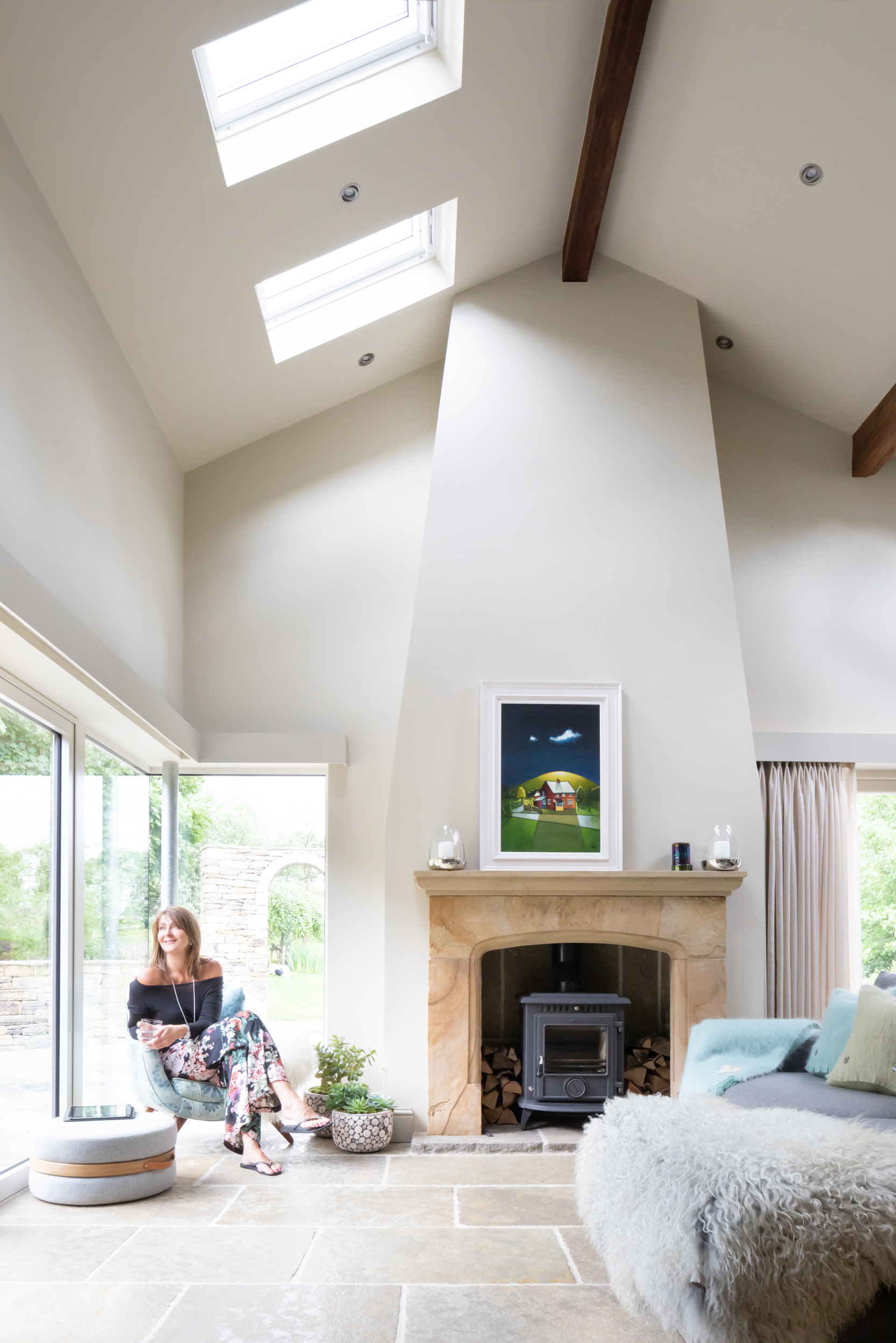Paul Craig Interior Photographer, People Photography, Living room
