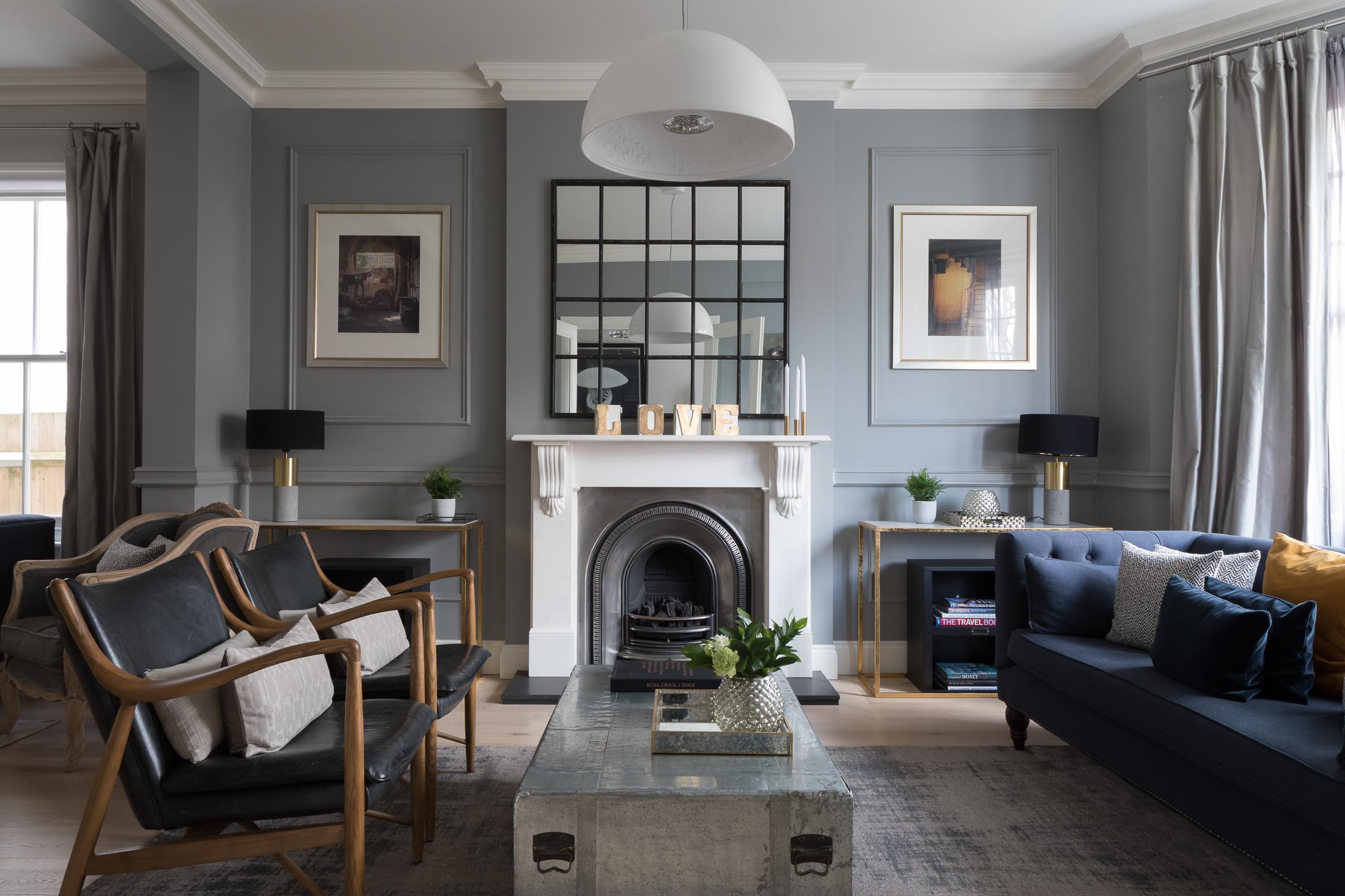 Paul Craig, Interior Photographer, Residential Photography, London, Living Room