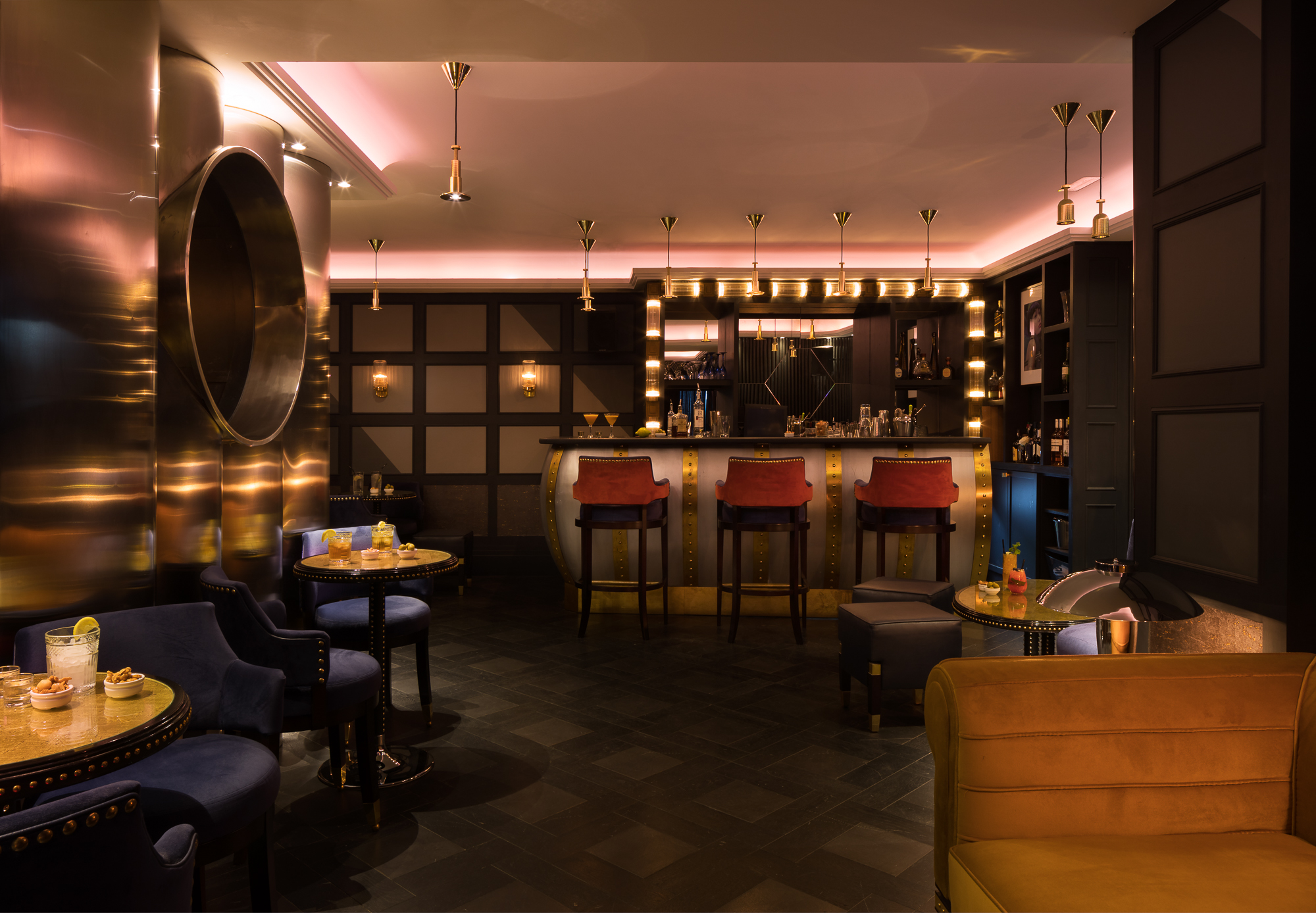 Paul Craig, Interior Photographer, Hotel Photography, Commercial Property Dining Food Bar