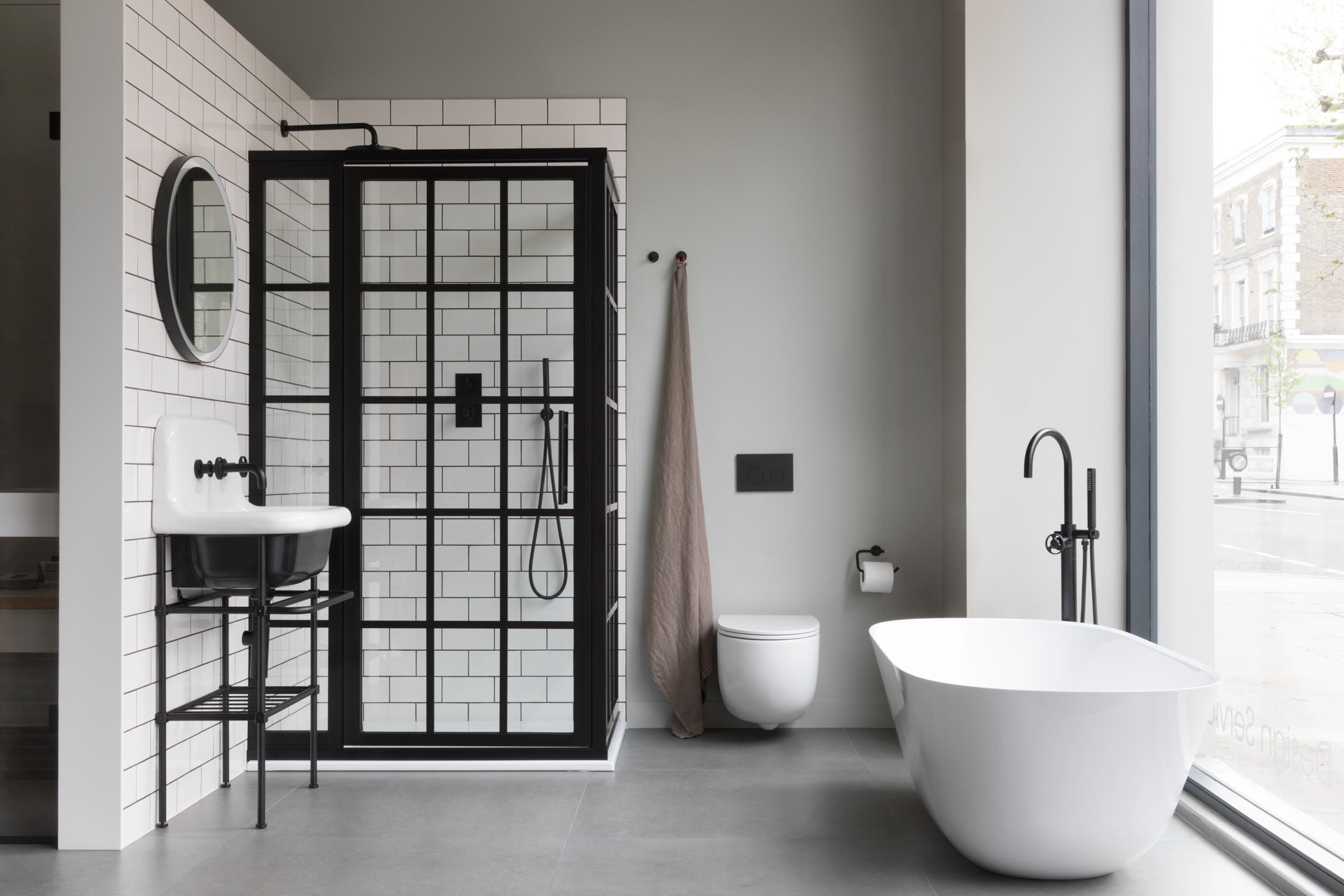 Paul Craig, Interior Photographer, Commercial Photography, London, Bathroom Showroom
