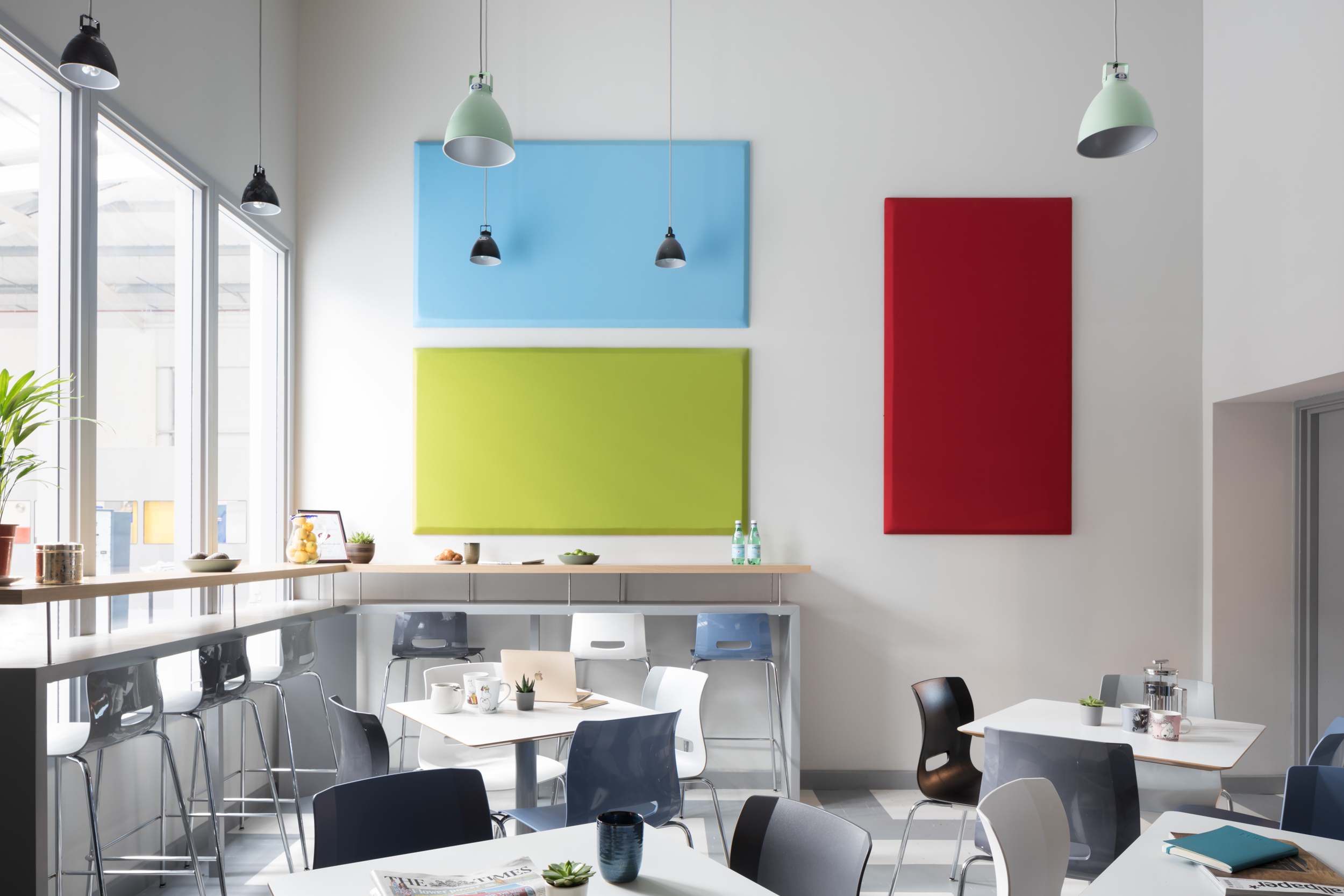 paul craig photographer, interior photography, office canteen commercial