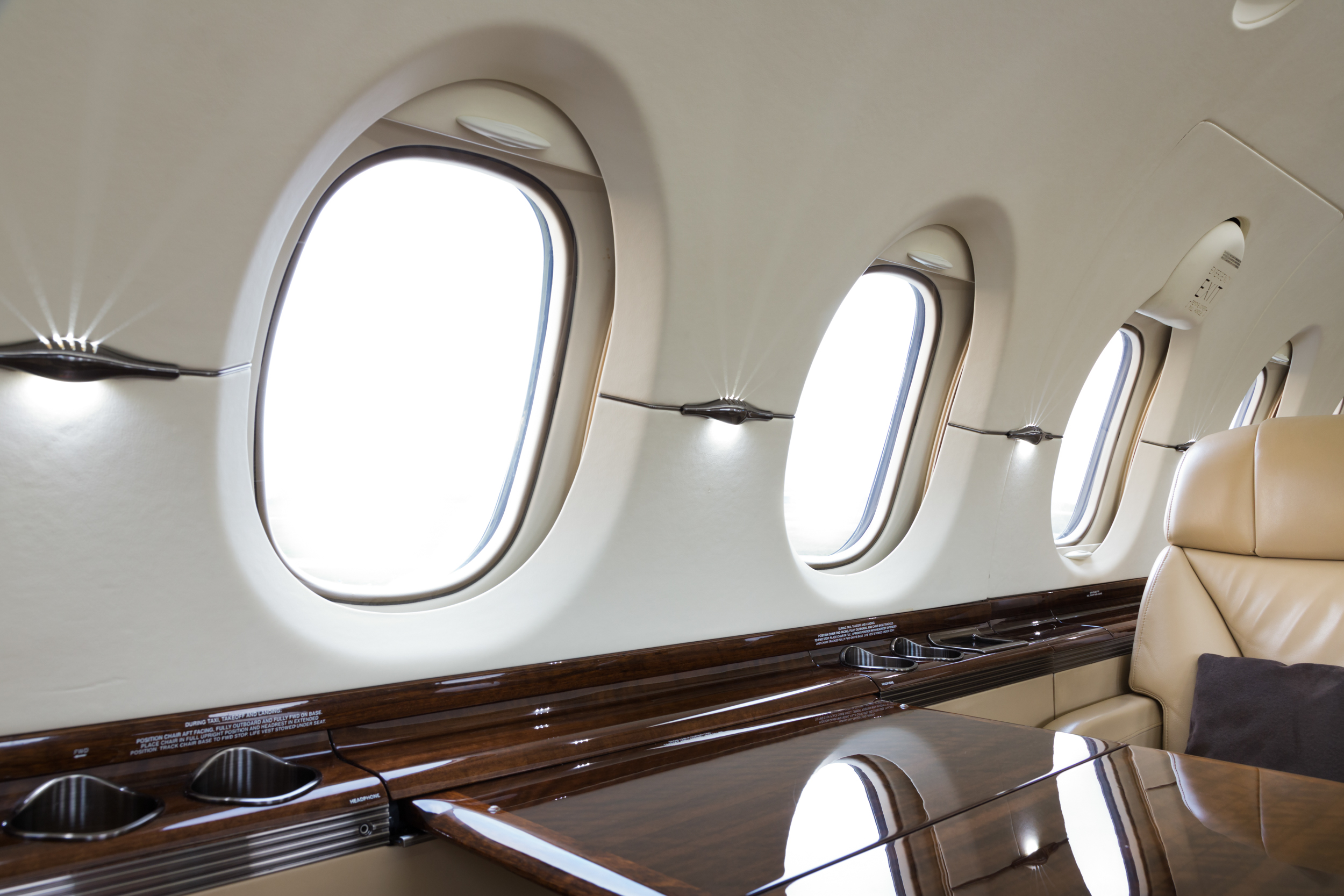 paul craig photographer, interior photography, Private Jet commercial