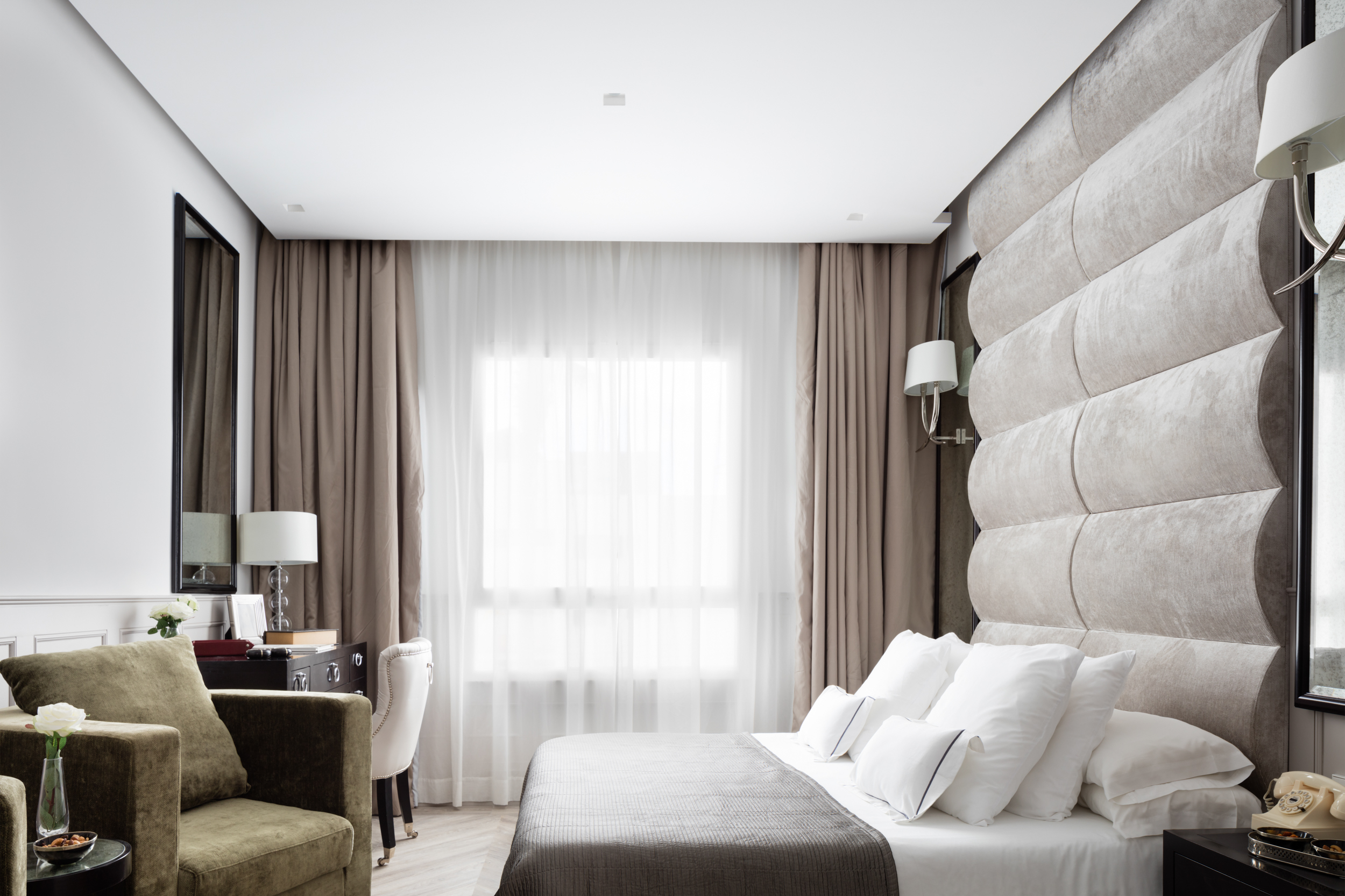 Paul Craig, Interior Photographer, Hotel Photography, Commercial Property Bedroom