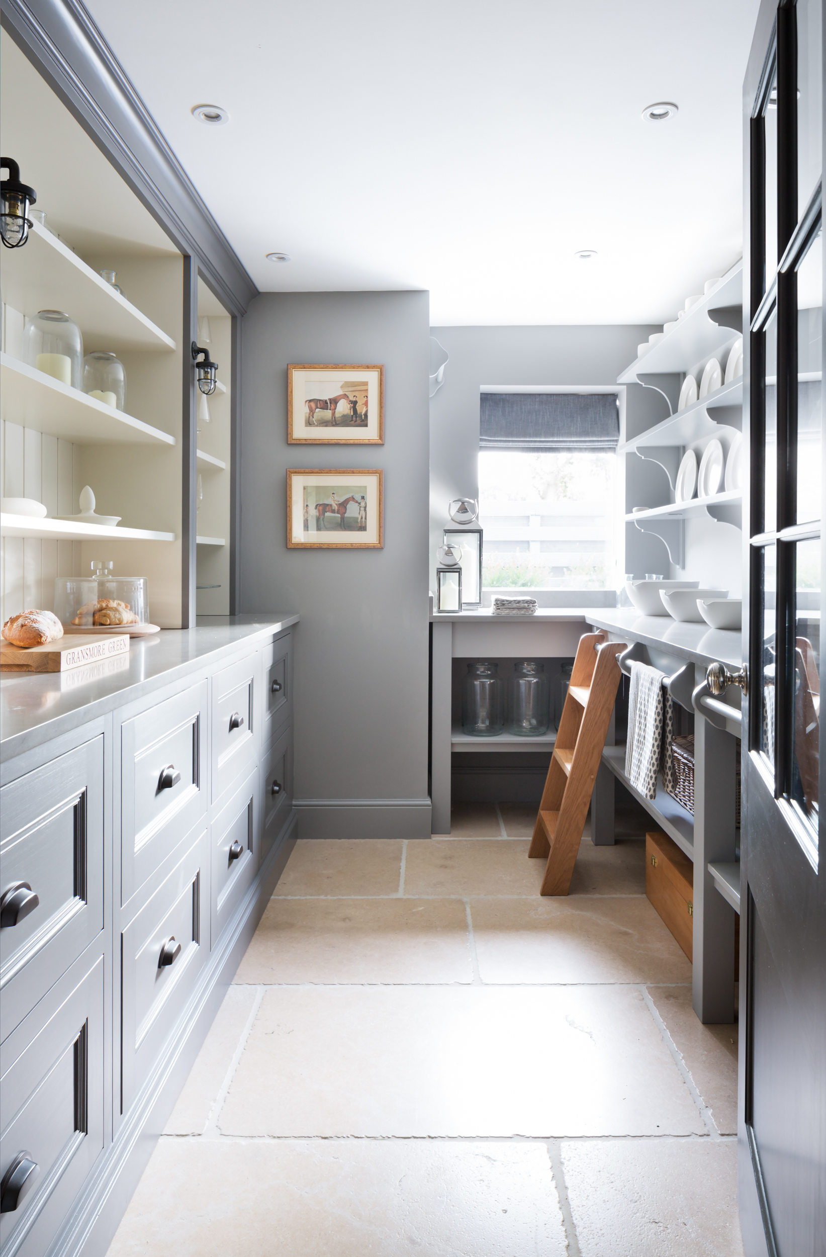 Paul Craig, Interior Photographer, Kitchen Photography, London, Residential, Pantry with door open