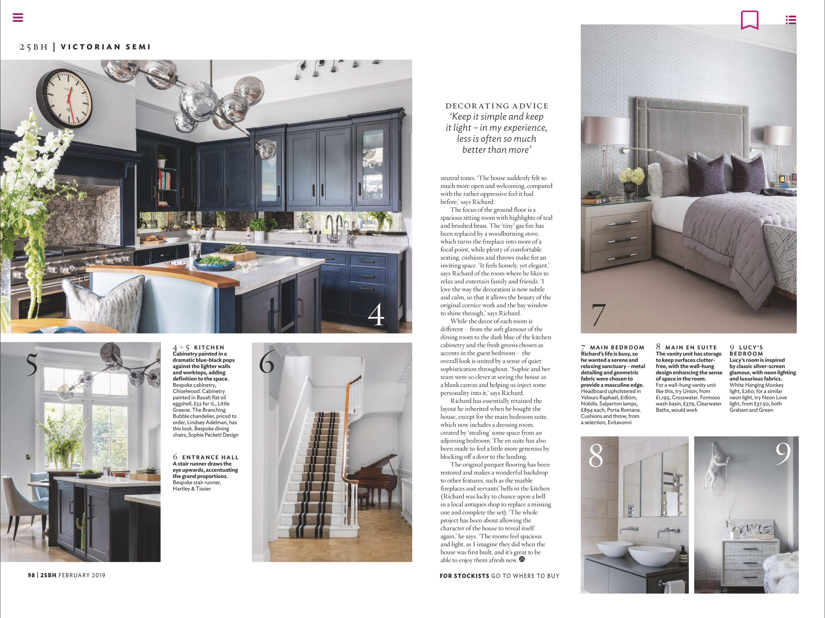 25 Beautiful Homes Magazine Feb 19 | Paul Craig Interior Photographer