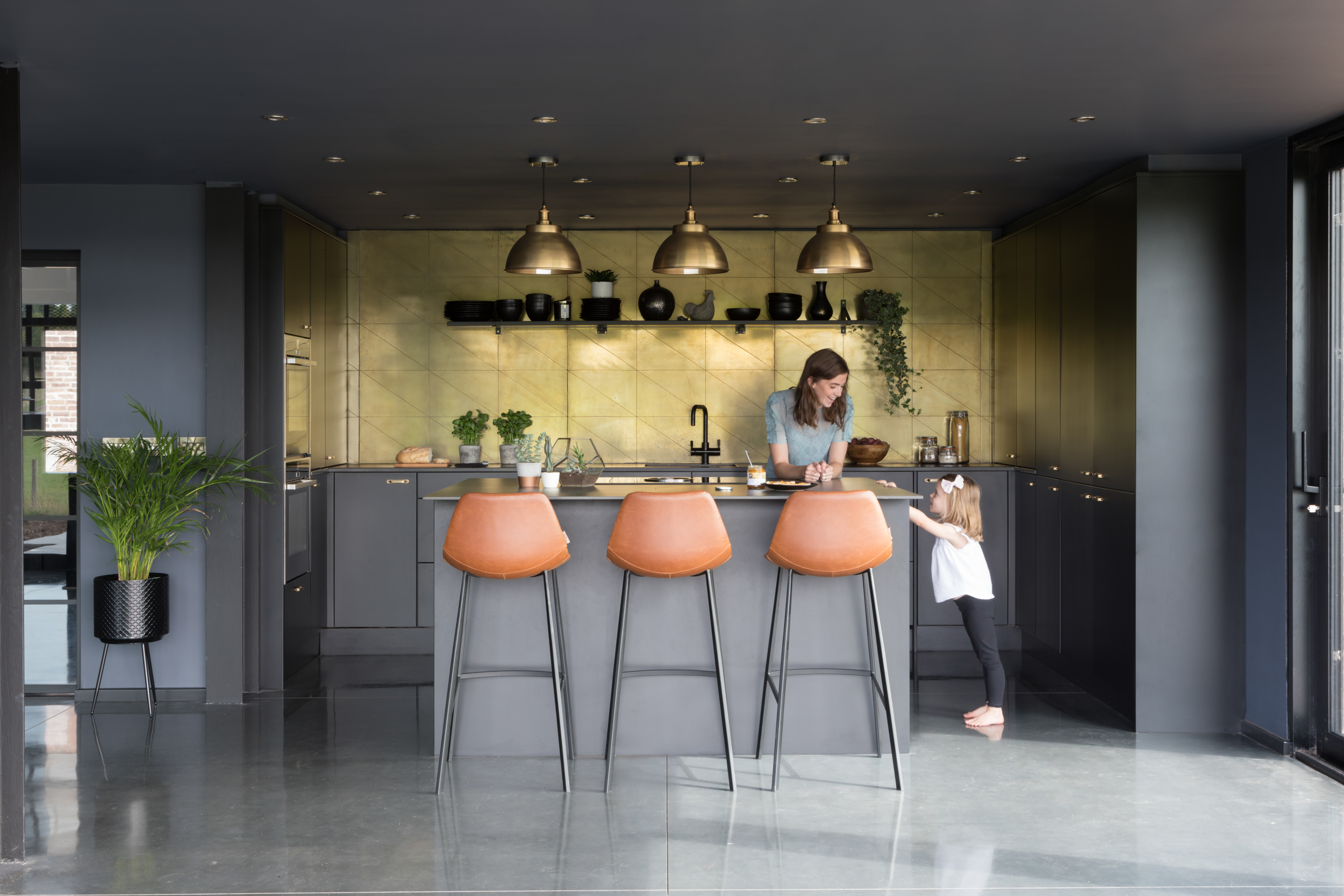 Paul Craig, Interior Photographer, People Photography, London, Kitchen