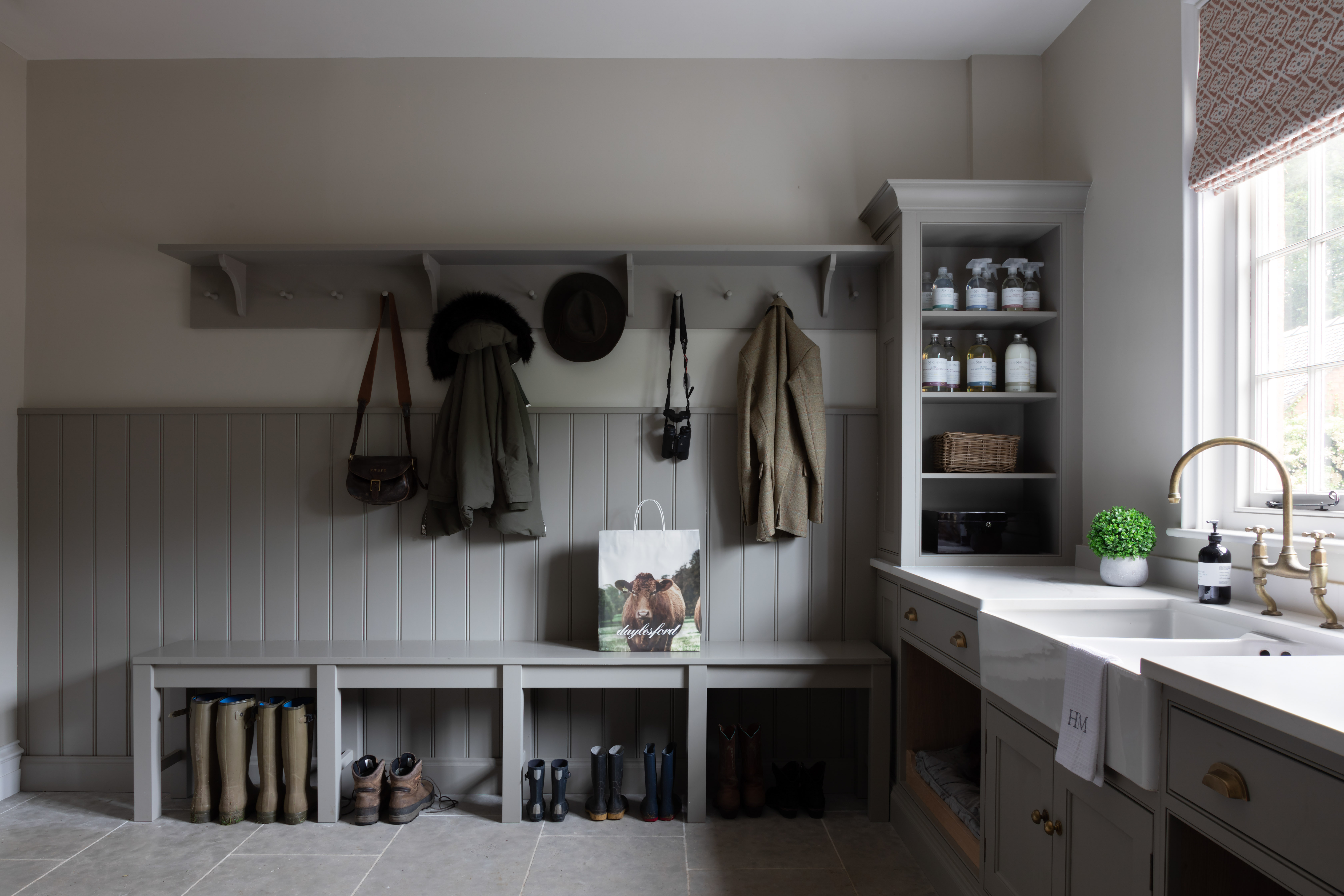 Paul Craig, Interior Photographer, Kitchen Photography, London, Boot Room, utility room