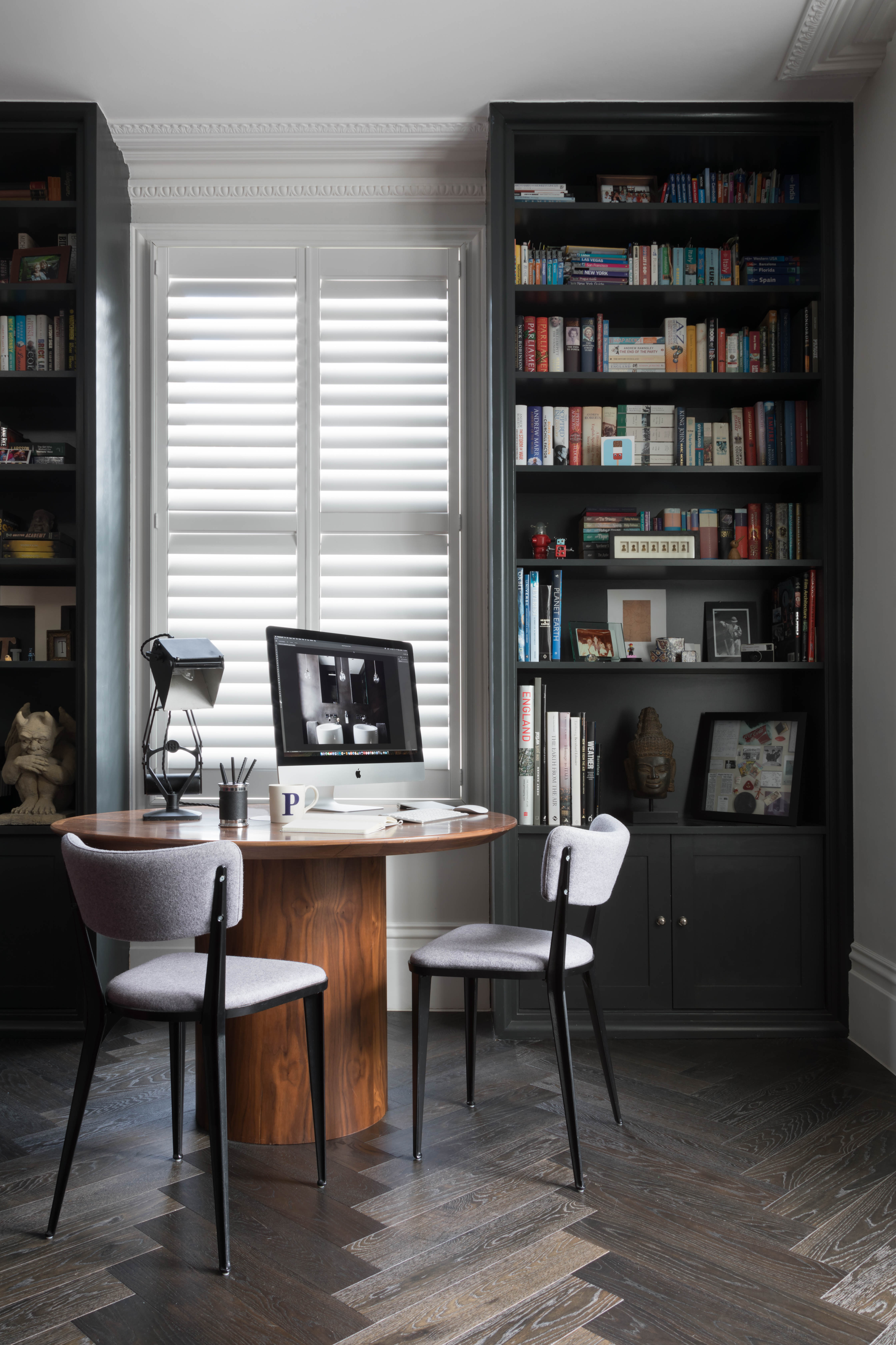 Paul Craig, Interior Photographer, Residential Photography, London, Library, Home Office